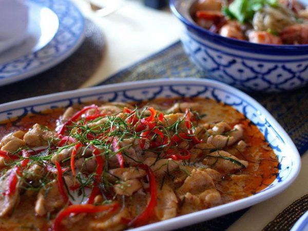 パネンカレー タイ料理教室 通信