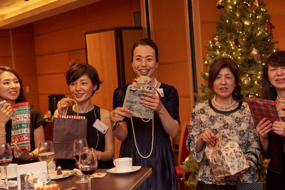 シリキッチン 忘年会 パーティ クリスマスパーティ タイ料理教室 タイ料理レッスン 東京アメリカンクラブ