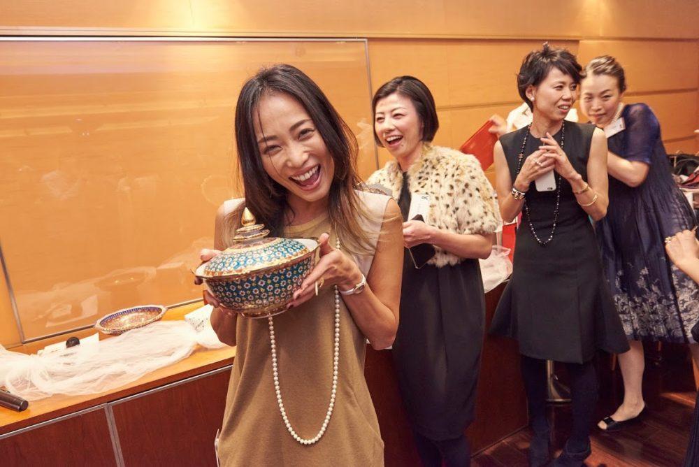 シリキッチン 忘年会 パーティ クリスマスパーティ タイ料理教室 タイ料理レッスン 東京アメリカンクラブ7